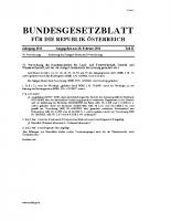 Änderung der Saatgut Verordnung Feb. 2011