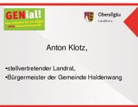 stv. LR Anton Klotz