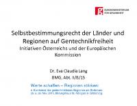 Dr. Eva Claudia Lang