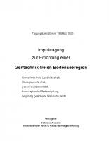 Tagungsbericht 19.3.05