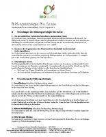 Bildungsstrategie Bio Suisse
