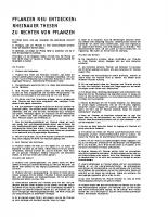 Rheinauer Thesen zu den Rechten der Pflanzen