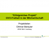Vortrag Othmar Bereuter