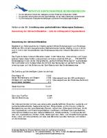 Auswertung Unterschriftenaktion IBK 2008