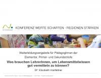 20181122_Konferenz gentechnikfreie Regionen_Lebensmittelwissen_Hainfellner